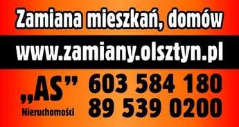 Olsztyn: Zamienię mieszkanie -