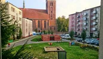 Lidzbark Warmiński (miasto): Kawalerka w centrum miasta na parterze