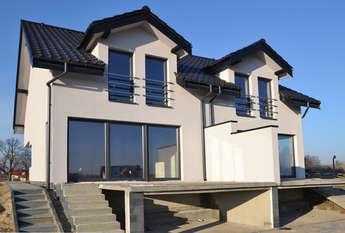 Gietrzwałd: Funkcjonalny nowy dom w Sząbruku blisko Olsztyna