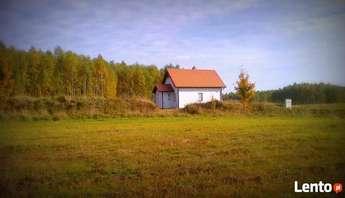 Dźwierzuty: Nowy dom całoroczny 80m z lasem koło Szczytna